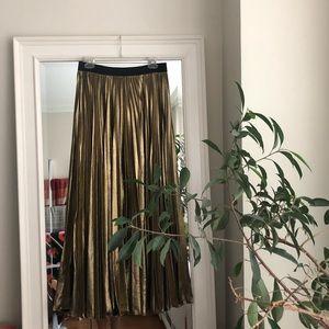 BCBG Metallic Skirt